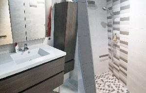 Salle d'eau maison location Jonzac